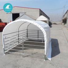 big structures waterproof mobile cattle dome cover agricultural shelter tent