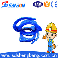 High Quality Good Sealing DN125 Concrete Pump Snap Clamp with Longer Service Made in China