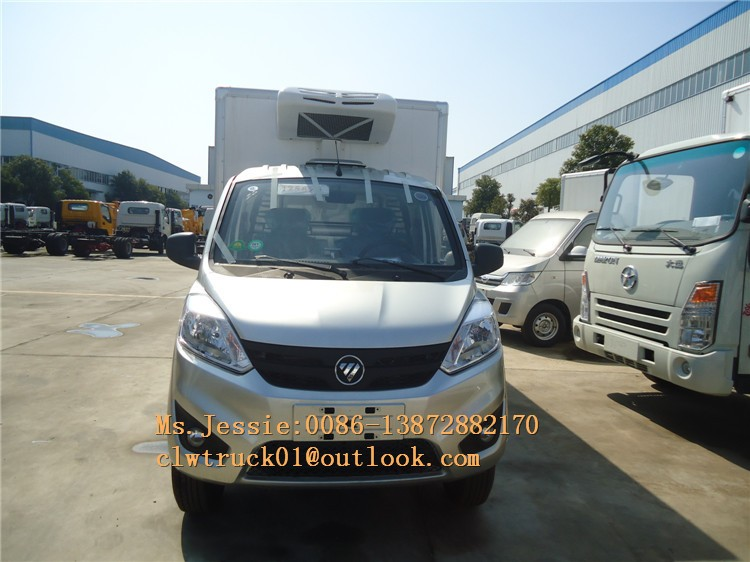 FOTON euro v refrigerator cooling van Vaccine drug carrier for sale