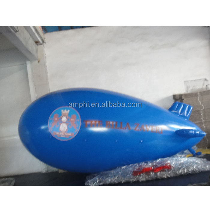High quality Outdoor Inflatable Blimp with Banners
