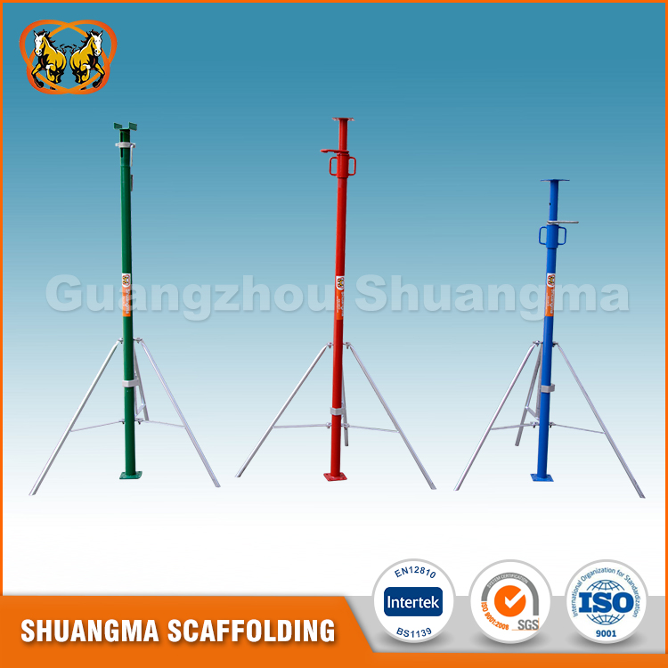 Competitive price for indoor building construction steel scaffolding shoring prop