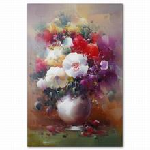 Famous realistic still life beautiful watercolor oil paintings of flowers painting