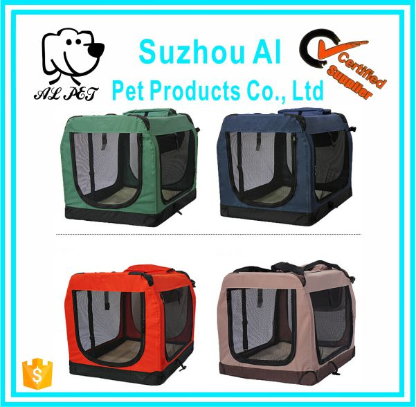Deluxe Soft Sided Pet Dog Portable House Crate for Sale