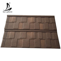 3M stone coated color 0.40mm aluminum zinc steel sheet metal roofing tile