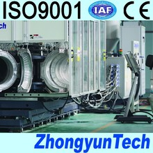 corrugated pipe machine with joint