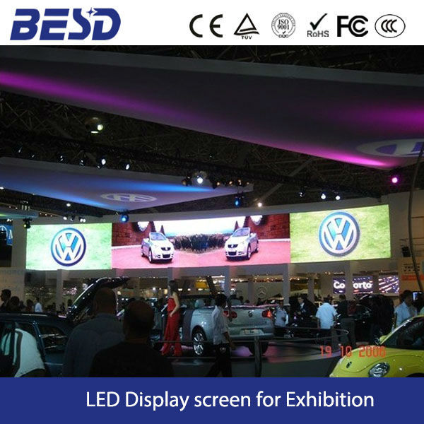 Auto Show LED display screen clear image