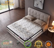 Tencel quilting pocket spring memory foam bed mattress china manufacturer