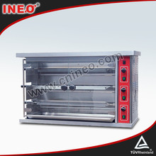 Rotary Hot Sale Gas Chicken Grill Machine/Grilled Chicken Equipment/Industrial Chicken Grill
