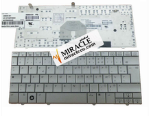 Original new Laptop keyboard for HP MINI 2133 2140 Silver layout FR/French