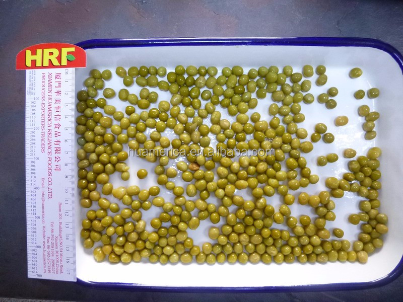 400g canned green pea( dry green pea )