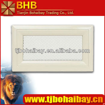 BHB functional fireplace ventilation grills