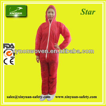 disposable TNT Coverall
