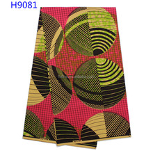 Wholesale fashion new arrive african holland wax fabric print fabric for making wedding dress