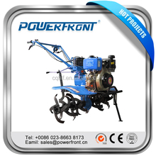 Diesel agricultural mini power tiller