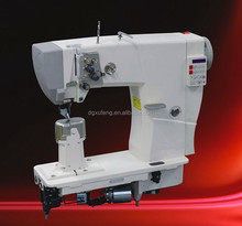 Double needle direct drive fully automatic thread trimming backstitch shoes sewing machine