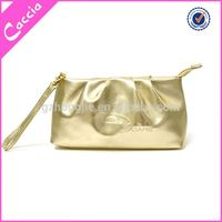 Newest Concept button pvc cosmetic bags plastic zipper bags
