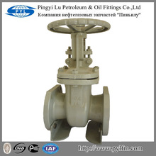 large diameter gate valve gear operated for oil and gas pipe