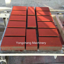 Manufacture price fully automatic concrete cement paving paver interlocking brick hollow block making machine price