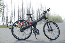 Powfu Flash - 2015 New model full suspension electric mountain bike Electric bicycle for sale, modern design , good quality