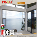 Luxurious aluminum window