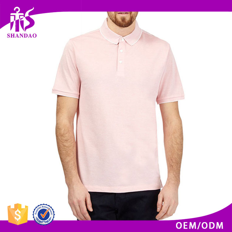 2016 Guangzhou Shandao Summer Casual Design 200g 100% Polyester Short Sleeve Factory Direct Wholesale Clothing