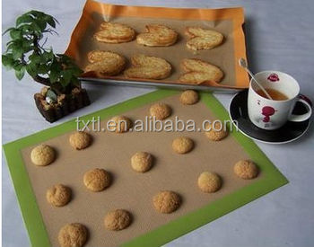 Tianle Non-Stick Silicone Baking Mat For Cookies Pastry Dough and Cooking Without Parchment Paper