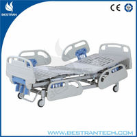 BT-AM101 CE high quality cheap hospital ABS patient high-low bed, hospital crank sickbed price