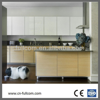 modern flat front kitchen cabinet for economical furniture