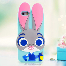 factory silicone custom phone case for iphone 6/7