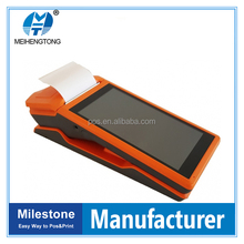 MHT-V1wireless android handheld pos terminal integrated with payment scan & printer pda
