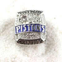 Europe and American Style Basketball Contest Exaggerated Men Championship Ring
