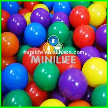 Factory Wholesale Plastic Transparent Clear Color Ocean Balls White Air Sea Balls for Children Million Ball Play Pool & Pit