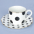 Hot Selling Products Super White Porcelain Espresso Coffee Cups & Saucers