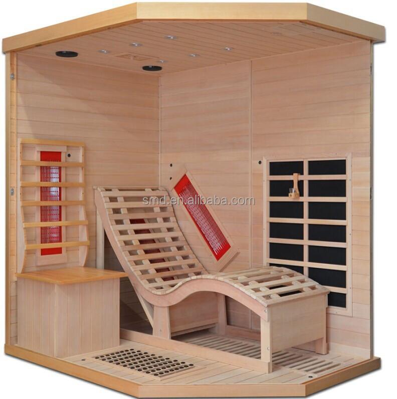 Wundervoll 2014 Neue Luxus Fernen Infrarot Sauna Mit Relax Lounge,2 Personen  FZ75