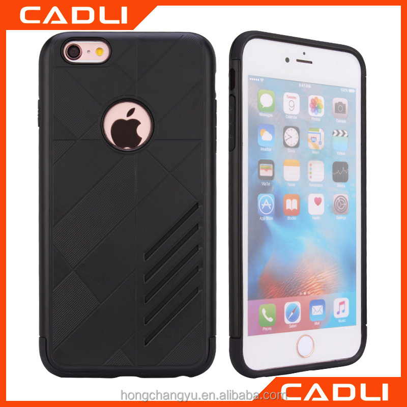 Slim Heavy Duty Phone Case Hybrid Shockproof Hard PC Armor Back Cover For Iphone 6 6s
