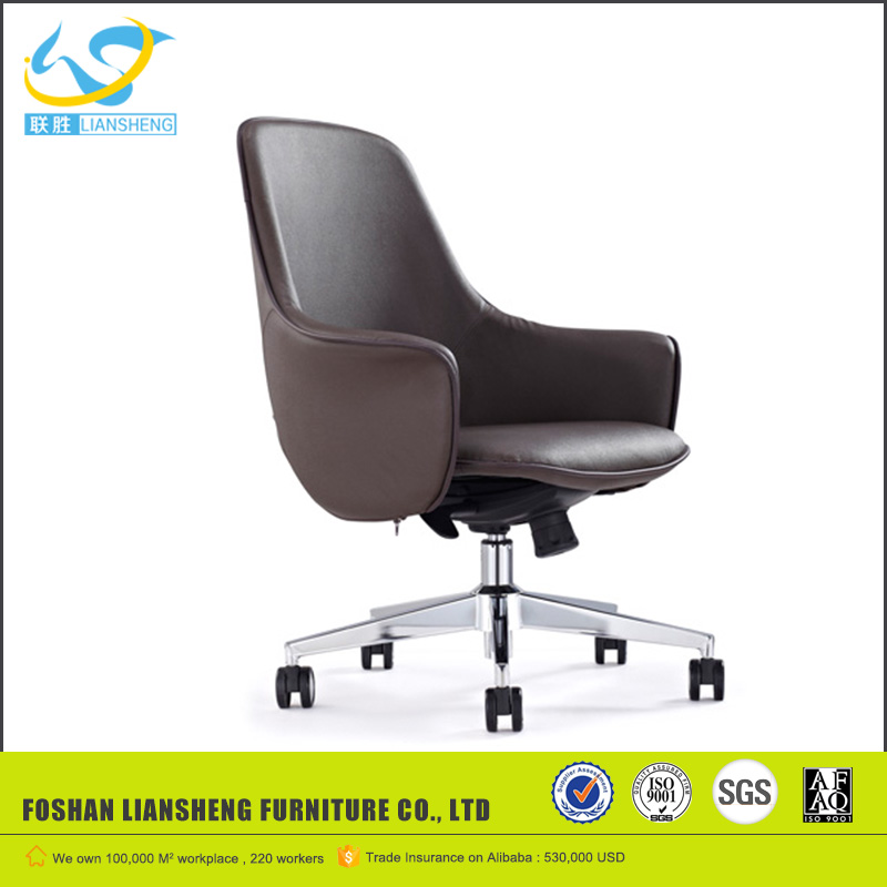 big boss luxury leather swivel computer conference casters chair LS839A