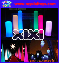 Custom Made Inflatable Pillar And Cone LED Decorations