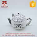 Wholesale Ceramic full decal Tea Set with lips(Teapot)