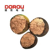3 core shielded cable copper cable prices 500kg electrical wire rope man -riding winch