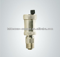safety valve Brass Automatic Air Vent Valve With Plastic Handle Nickel plated