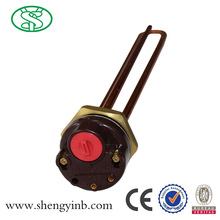 electric heating element with temperature control for water heater