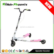 2015 most fashionable Adult flicker 3 wheel scooter Electrical Smart Drifting Scooter (TTDS-010)