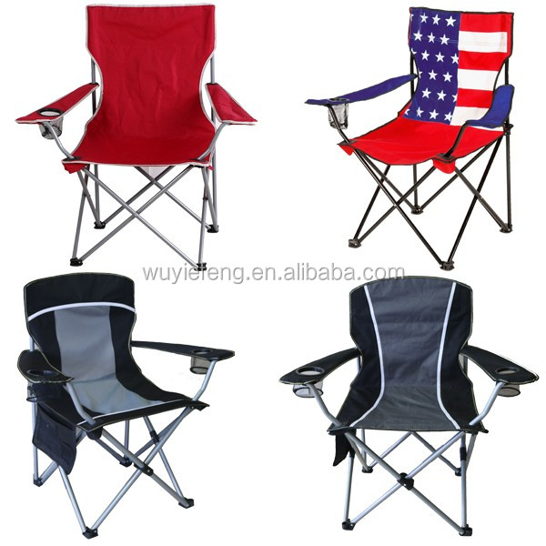 Hot selling cheap portable fishing camping chair with carry bag