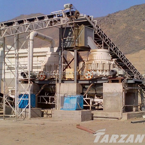 Shanghai Tarzan new design cone crusher hp manufacturers with good performance