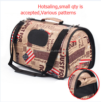 wholesale ready stock vavious pattern cat carrier dog bag