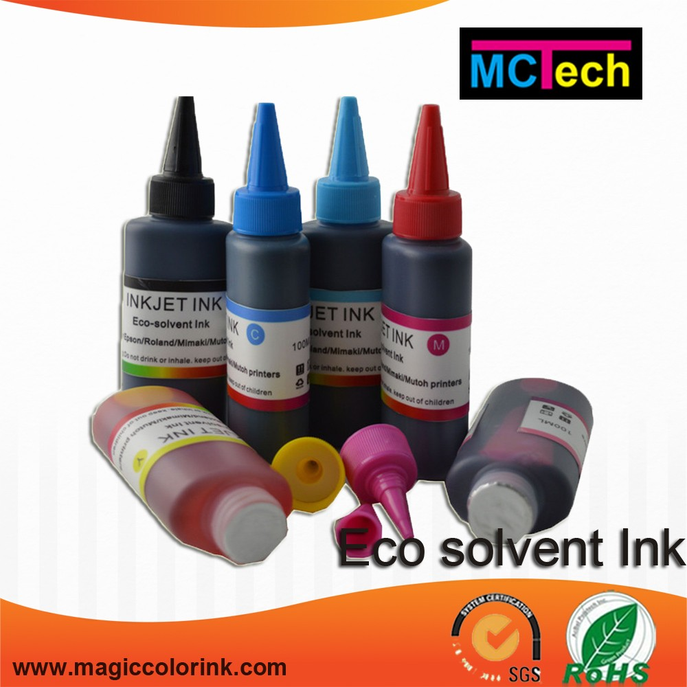 Bulk Refill Eco Solvent Ink for EPSON printhead