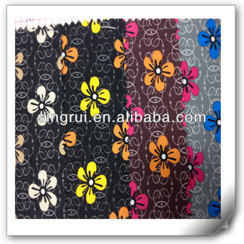 Fashion artifical textile leather