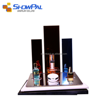 Factory price acrylic cosmetic display cabinet and showcase