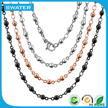 New Gold Neck Chain Designs Girl,Stainless Steel Chain Necklace,Silver Gold Chain