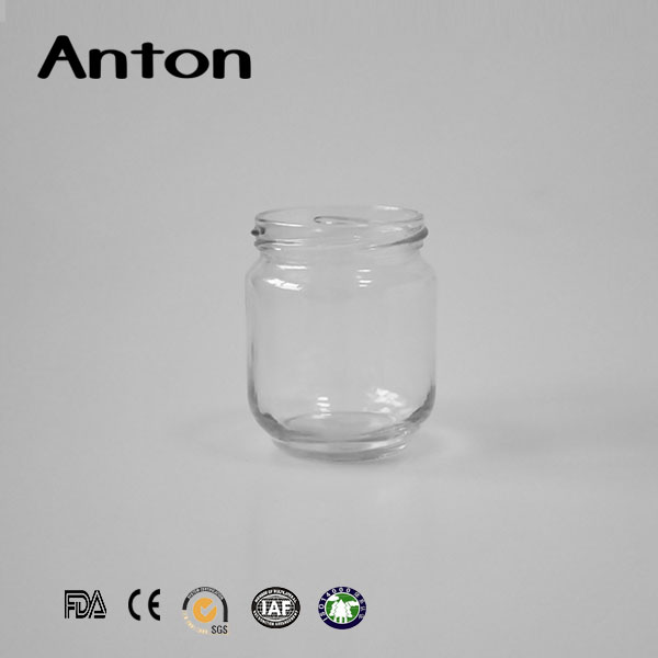Top glass Sealing glass food jar bottle container for jam
